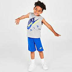 Boys' Little Kids' Nike Air Muscle Tank and Shorts Set