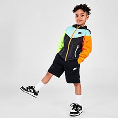 Boys' Little Kids' Nike See Me Full-Zip Jacket and Shorts Set