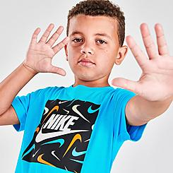 Boys' Little Kids' Nike Swooshfetti Box Fill T-Shirt