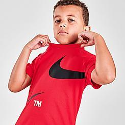 Boys' Little Kids' Nike Split Swoosh TM T-Shirt