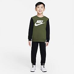Little Kids' Nike Elevated Trims Sweatshirt and Jogger Pants Set