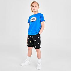 Little Kids' Nike Airmoji Shorts