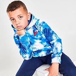 Boys' Little Kids' Nike Allover Print Club Fleece Hoodie