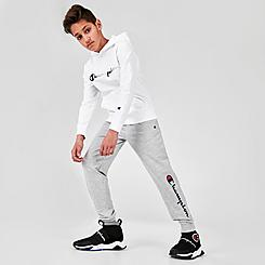 Kids' Champion Script French Terry Jogger Pants