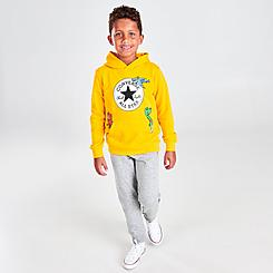 Boys' Little Kids' Converse Dino Friends Hoodie and Jogger Pants Set