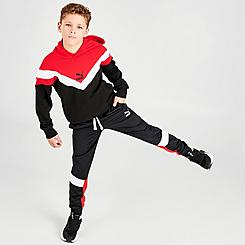 Boys' Puma MCS Brushed Tricot Track Jogger Pants