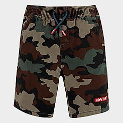 Boys' Levi's® Box Tab Camo Chino Shorts