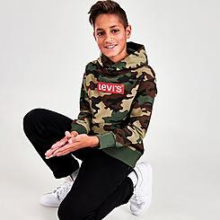 Boys' Levi's® Allover Camo Print Hoodie