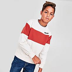 Boys' Levi's® Colorblock Fleece Crewneck Sweatshirt