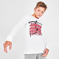 Boys' Jordan Jumpman Stack Long-Sleeve T-Shirt