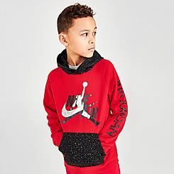 Boys' Jordan Mashup Jumpman Classics Speckle Hoodie