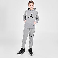 Boys' Jordan Jumpman Logo Fleece Hoodie