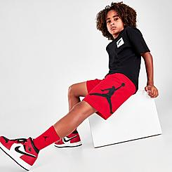 Boys' Jordan Jumpman Logo Mesh Shorts