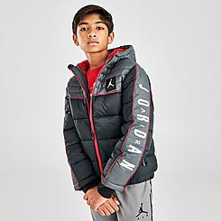 Boys' Jordan Colorblock Puffer Jacket