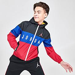 Boys' Jordan Legacy of Sport Wind Jacket