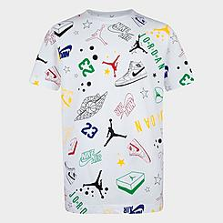 Boys' Jordan Allstar Allover Scribble Print T-Shirt