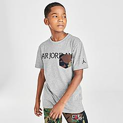 Boys' Air Jordan Jumpman Classics Camo Pocket T-Shirt