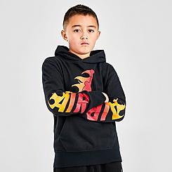 Boys' Jordan Jumpman Flame Pullover Hoodie