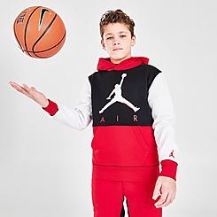 Boys' Jordan Jumpman Colorblock Pullover Hoodie