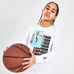 Boys' Jordan Jumpman Air Photo Long-Sleeve T-Shirt