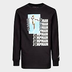 Boys' Jordan Jumpman Air Photo Long-Sleeve T-Shirt