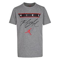 Boys' Big Kids' Jordan Mashup Flight History T-Shirt