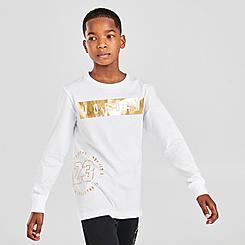 Boys' Jordan AJ Highlight Long-Sleeve T-Shirt