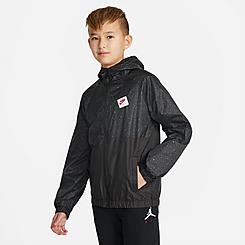 Kids' Jordan Jumpman Air AOP Wind Jacket