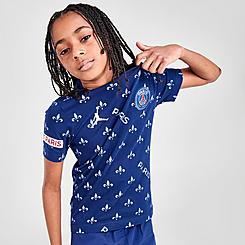 Boys' Jordan Paris Saint-Germain Statement T-Shirt