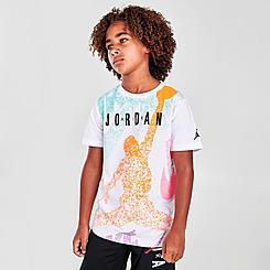 Boys' Jordan Jumpman Distressed T-Shirt