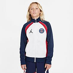 Kids' Jordan Paris Saint-Germain Anthem Full-Zip Jacket