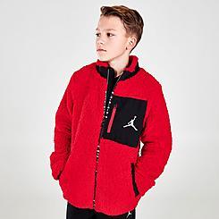 Boys' Jordan Sherpa Full-Zip Jacket