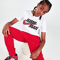 Kids' Jordan Jumpman Swoosh T-Shirt
