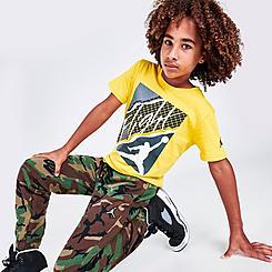 Boys' Jordan AJ4 Lightning Graphic T-Shirt