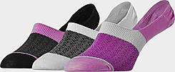 Women's Sof Sole 3-Pack Footie Socks