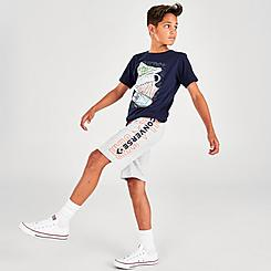 Boys' Converse Wordmark French Terry Shorts