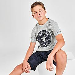 Boys' Converse Jungle Camo Patch T-Shirt