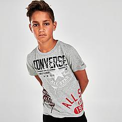 Boys' Converse Allover Logo T-Shirt