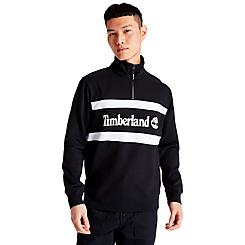 Men's Timberland Funnel Neck Half-Zip Sweatshirt