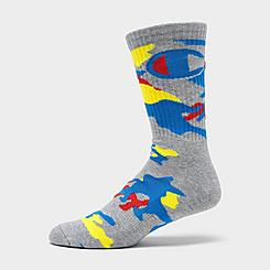 Men's Champion Camo Crew Socks
