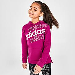 Girls' adidas Event20 Fleece Pullover Hoodie