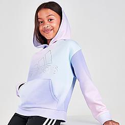 Girls' adidas Gradient Fleece Pullover Hoodie