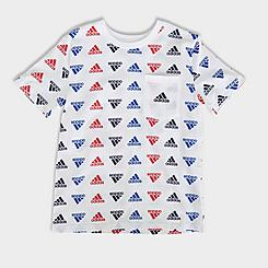 Boys' adidas Brand Love Allover Print T-Shirt