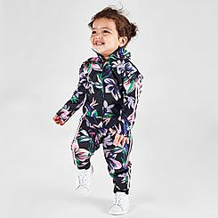 Girls' Infant adidas Training Floral Track Suit