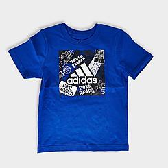Boys' Toddler adidas Badge Of Sport T-Shirt and Shorts Set