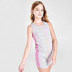 Girls' adidas Brand Love Print Romper