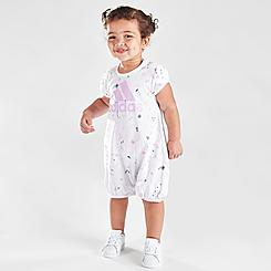 Girls' Infant adidas Shortie Romper