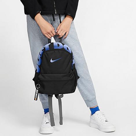 Nike Kids' Brasilia Jdi Mini Backpack In Black