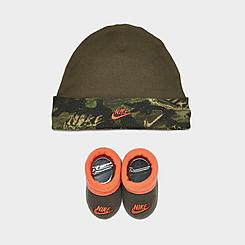 Infant Nike Futura Sketch Hat and Bootie Set