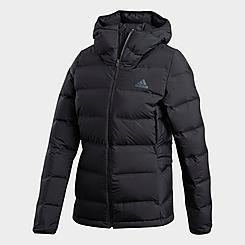 Women's adidas Helionic Hooded Down Jacket